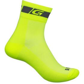 GripGrab Hi-Vis Regular Cut Socks Fluo Yellow